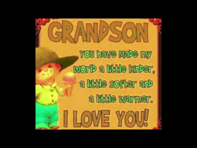 Grandson Have A Very Happy Birthday........Birthday Greetings Card