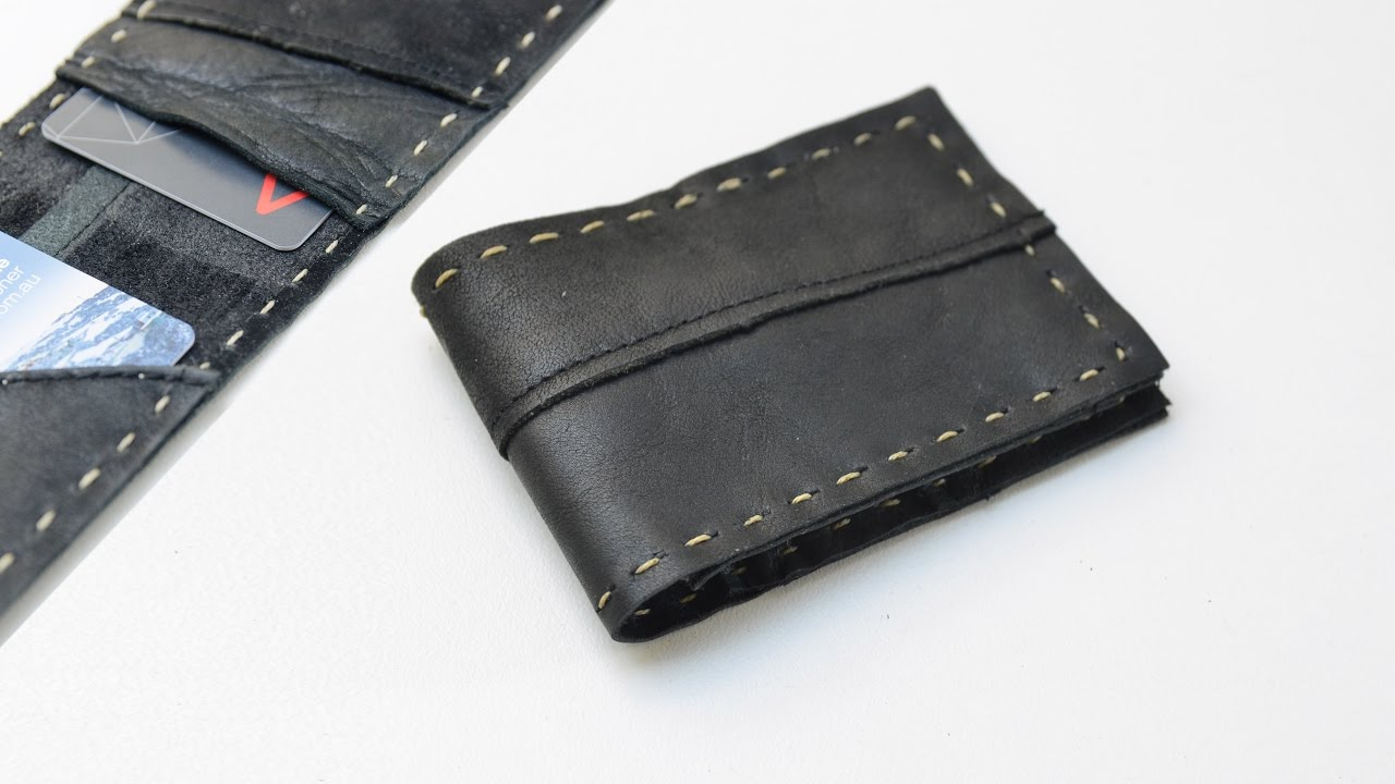 Diy How To Make A Leather Wallet Simple And Easy