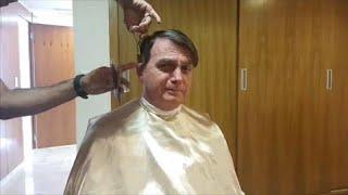 شاهد: الرئيس البرازيلي يلغي موعده مع وزير الخارجية الفرنسي لانشغاله بقص شعره!…