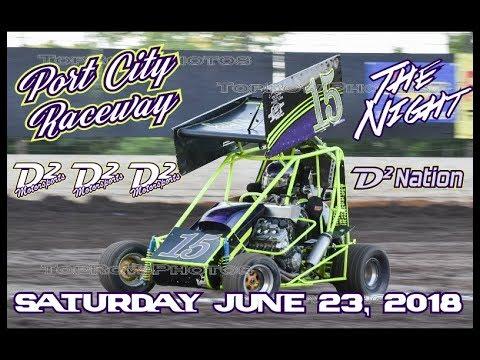 D2 Motorsports - Port City Raceway - Points Race 6-23-18 - The Night