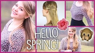 Haare & Outfit - HELLO SPRING!
