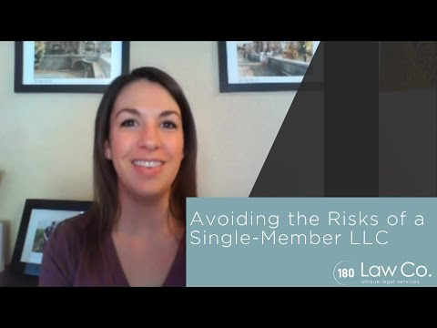 Avoiding the Risks of a Single-Member LLC - All Up In Yo' Business