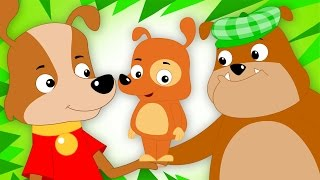 Woof Woof Dog | Original Nursery Rhymes | Songs For Kids | Baby Rhymes | Kids Tv Cartoons
