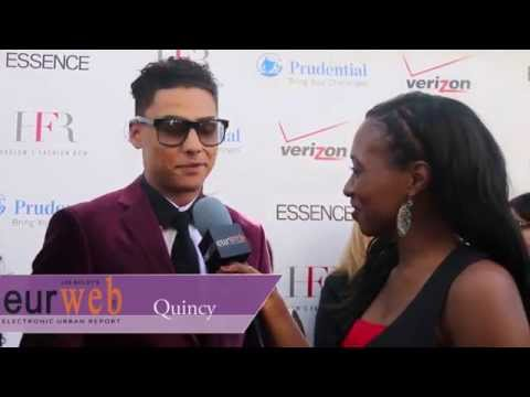 EUR on the scene at Harlem's Fashion Row with Quincy HD