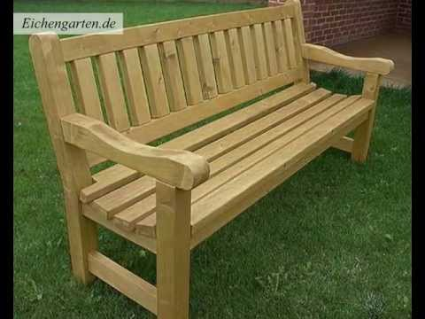 gartenb nke und sitzb nke youtube. Black Bedroom Furniture Sets. Home Design Ideas