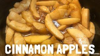 Slow Cooker Cinnamon Apples | Easy Crock Pot Recipe