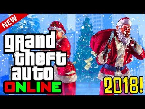 GTA 5 Online: 2018 Festive Surprise DLC! Release Date, Snow Details & More! (GTA 5 Online DLC)