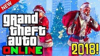 Video GTA 5 Online: 2018 Festive Surprise DLC! Release Date, Snow Details & More! (GTA 5 Online DLC) download MP3, 3GP, MP4, WEBM, AVI, FLV November 2018