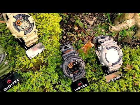 Jam tangan Divers Termurah, bandel, Original, bergaransi | Digitec DG 2089 army