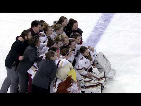 Womens Hockey: Beanpot Championship Highlights vs BU (Feb. 13, 2018)