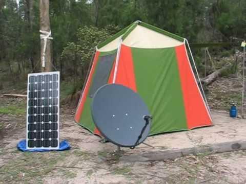 Bush Programming Tent
