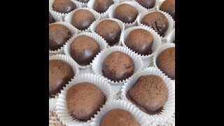 No Bake Chocolate Balls With Dry Fruit And Nuts