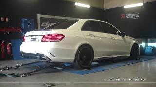 Mercedes E 63 amg 557cv AUTO Reprogrammation Moteur @ 622cv Digiservices Paris 77 Dyno