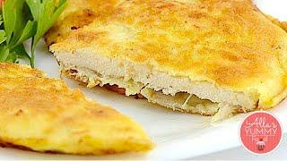 Fried Chicken Breast Recipe - Latvian Recipe - Сочные отбивные из филе курицы