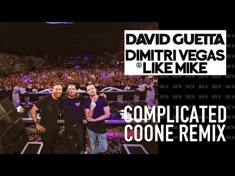 Dimitri Vegas & Like Mike & David Guetta - Complicated (Coone & Brennan Heart Remix)