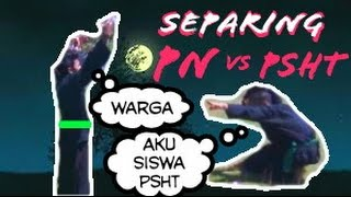 Siswa PSHT (SH Terate) vs Warga PN (Pagar Nusa)
