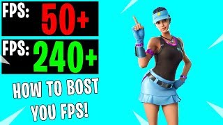 How To Get Better FPS In Fortnite Season 9... INCREASE your Fortnite FPS for FREE