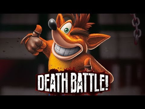 Crash Bandicoot Dashes into DEATH BATTLE