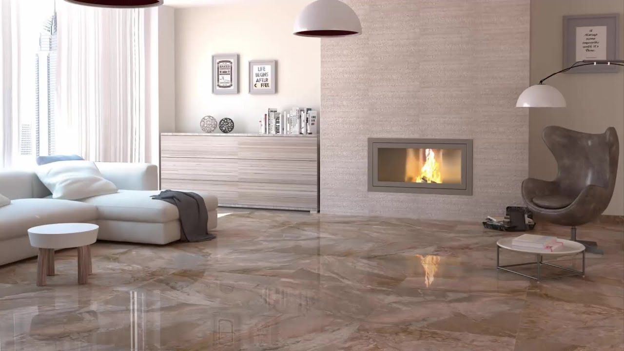 Modern Living Room Floor Tiles Designs