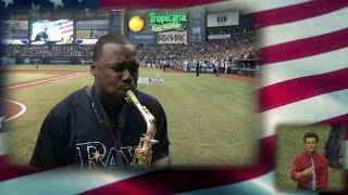 TOR@TB: BK Jackson performs 'God Bless America'