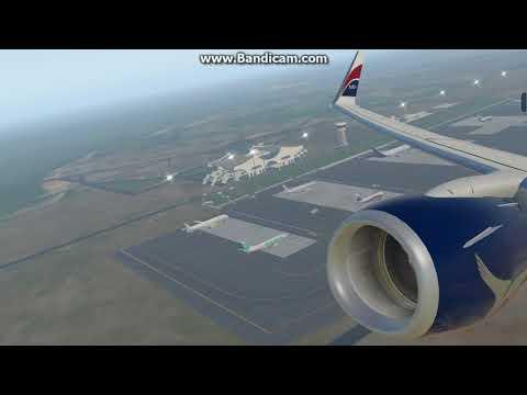 Arik B738 Departing Banjul , The Gambia(GBYD)