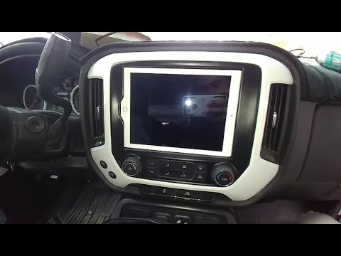 My New 2014-2018 Silverado Sierra IPad Dash Kits
