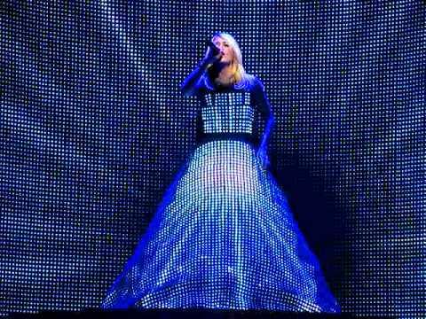 Carrie Underwood Light Show Dress