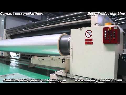 Bopp production line