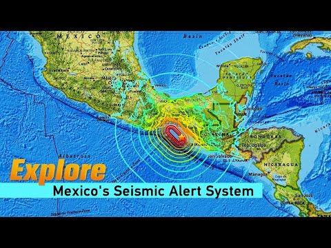 Live: Explore Mexico's Seismic Alert System探访墨西哥地震预警中心