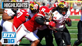Highlights: Terps Get It Done On The Ground Vs. Rutgers   Maryland At Rutgers   Oct. 5, 2019