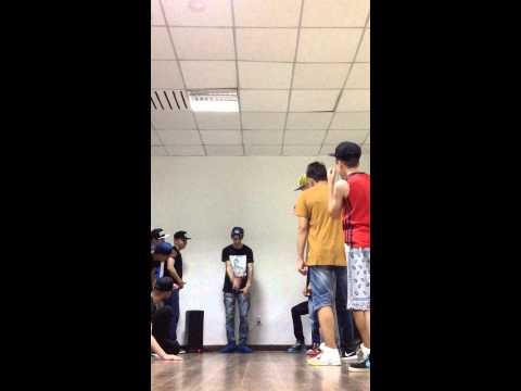 Krump Session in RISE DANCE STUDIO