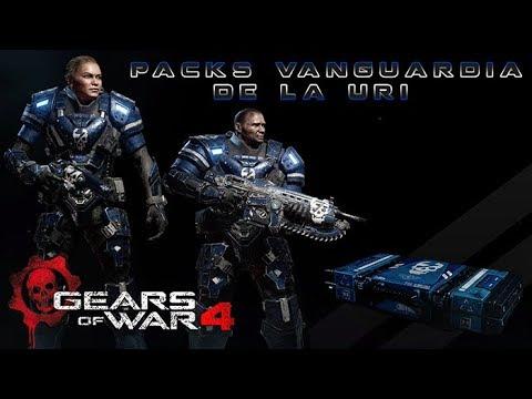 Gears Of War 4 L Open Packs Vanguardia De La Uri L ¿Como Me Fue? L 1080 P Hd