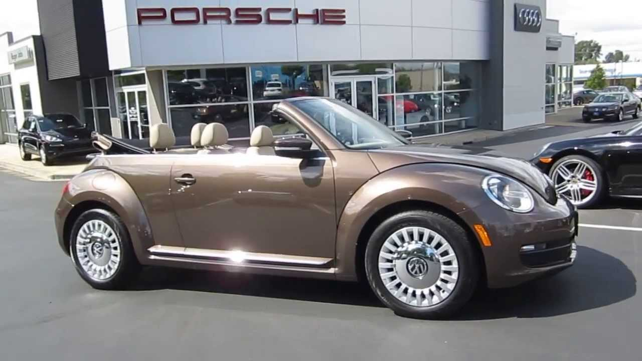 volkswagen beetle toffee brown metallic stock  youtube