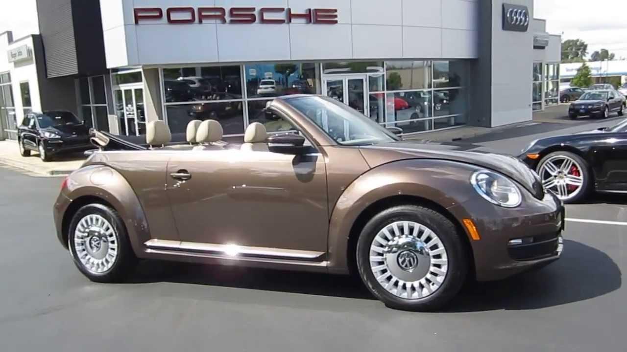 2017 Volkswagen Beetle Toffee Brown Metallic Stock 109234