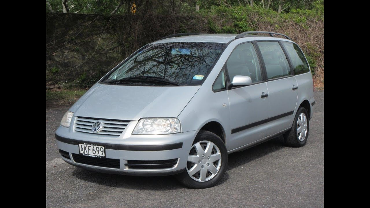 2002 volkswagen sharan nz new wagon 1 reserve. Black Bedroom Furniture Sets. Home Design Ideas