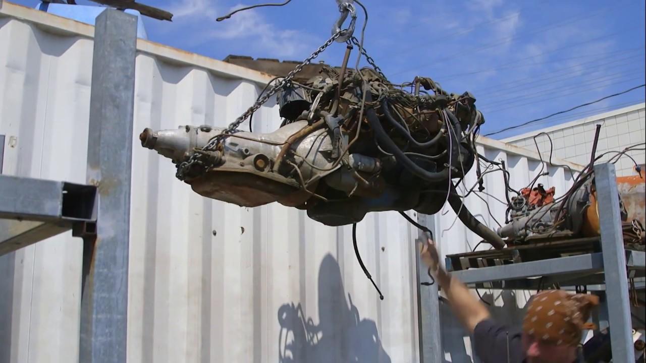 Full Custom Garage  Monster Transmission  Antique Tow ...