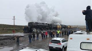 Union Pacific Big Boy #4014 Glides Through Wahsatch, Utah (5/8/19)
