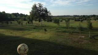Muhu Jalgpalli, Discgolfi Ja Golfiväljakud Ootavad Krundi Talus