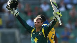 From the Vault: Hughes makes history with ODI debut ton