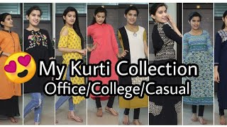 😍Try On : Huge Kurti Haul | Myntra/Jabong Kurta Haul | Office/College/Casual |