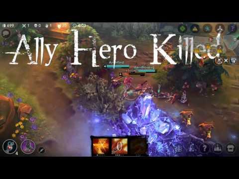 Test Az screen recording - Vainglory gameplay