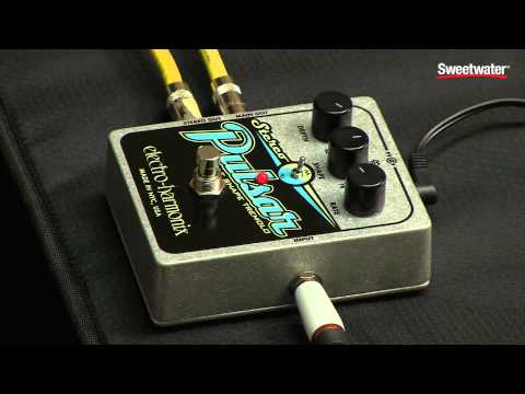 Electro-Harmonix Stereo Pulsar Tremolo Pedal Review by Sweetwater