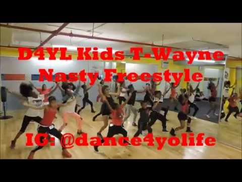D4YL Kids Dance to T-wayne Nasty Freestyle Download Download