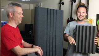 Build a Home Studio with EQ Acoustics - PART 03 Free Space