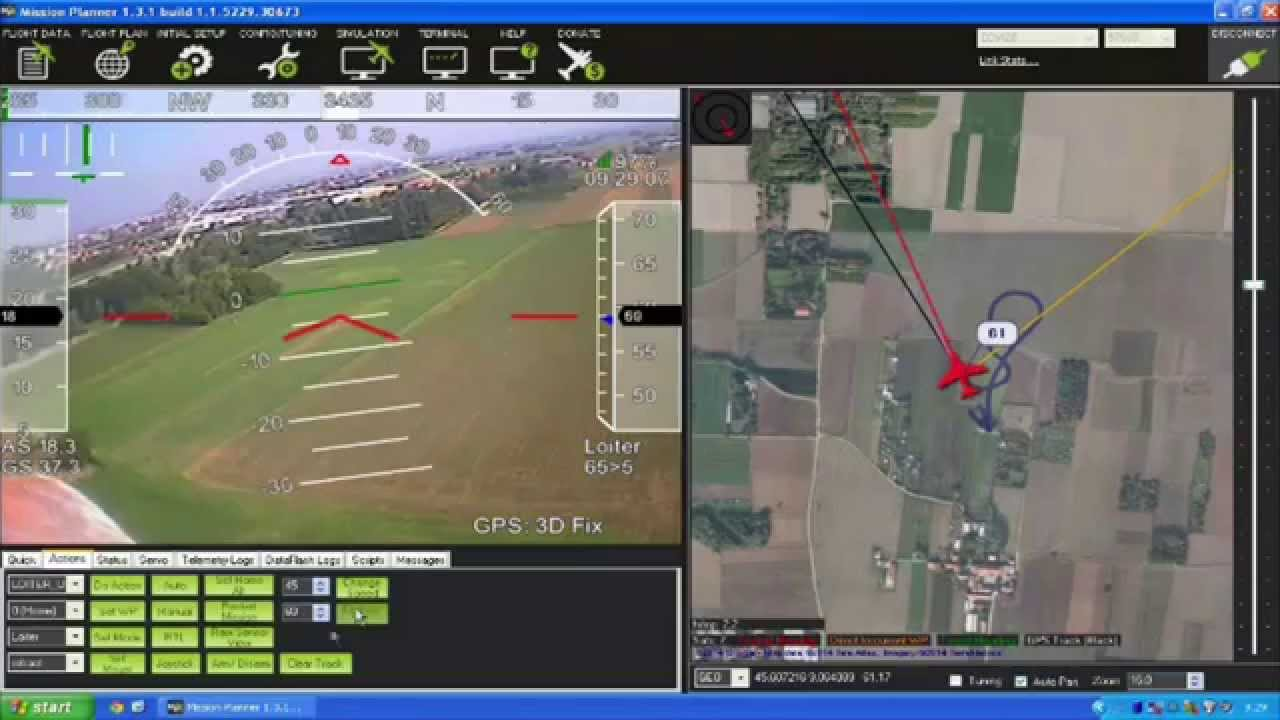 Autopilot Assisted Fpv Flying With Mission Planner