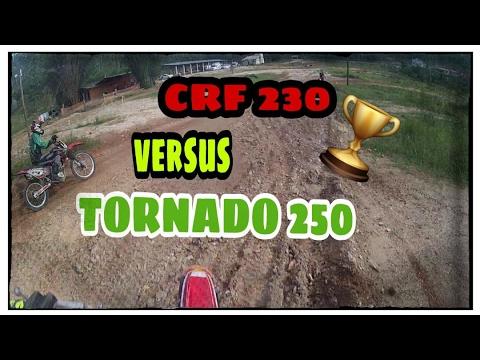 Crf  x Tornado na pista