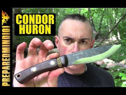 Condor Huron Knife: First Impressions Review - Preparedmind101