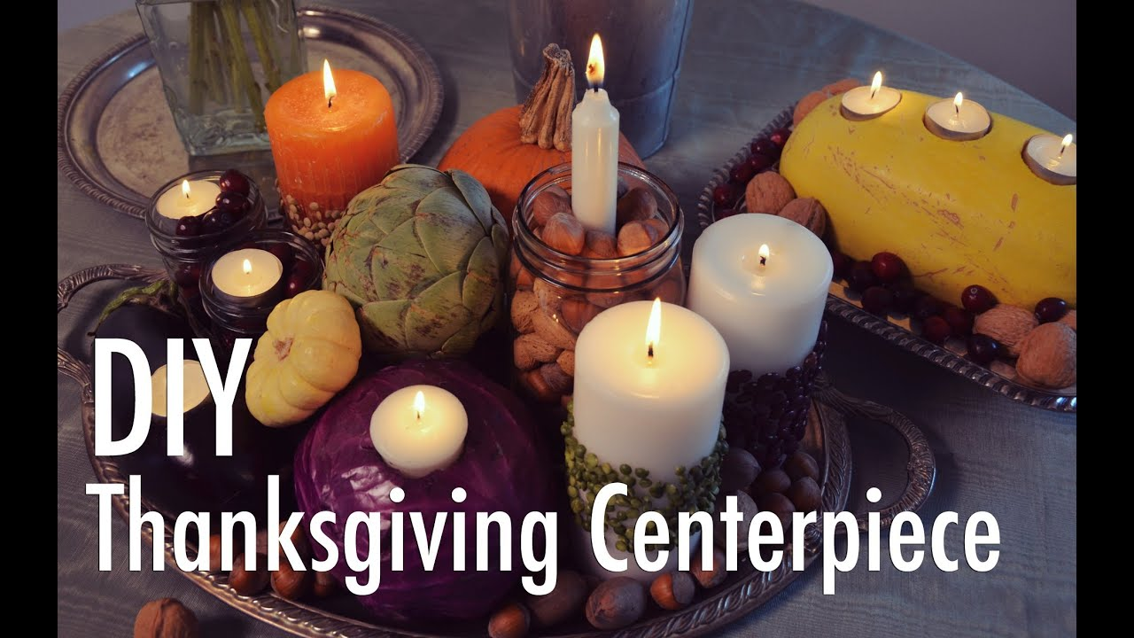 Creative thanksgiving centerpiece diy with mr kate youtube