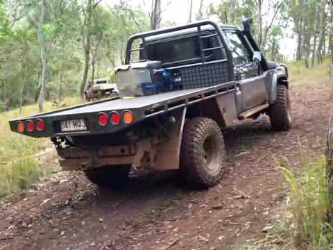 V8 Td Landcruiser Ute Muddy Hill Climb At Lcmp Youtube
