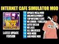 Gambar cover Internet Cafe Simulator Mod Apk 1.4 Unlimited Money | Internet Cafe Simulator Apk